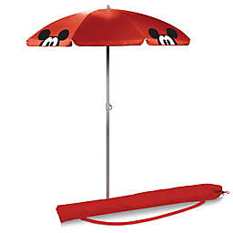 Picnic Time® Mickey Mouse 5.5 Portable Beach Umbrella in Red