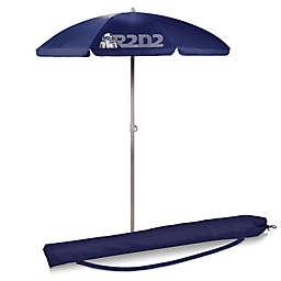 Picnic Time® Star Wars™ R2-D2 5.5-Foot Portable Beach Umbrella in Navy