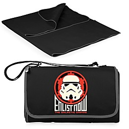 Picnic Time® Star Wars™ Storm Trooper Outdoor Picnic Blanket in Black
