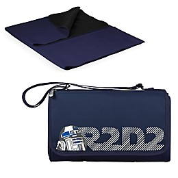 Picnic Time® Star Wars™ R2-D2 Outdoor Picnic Blanket in Navy