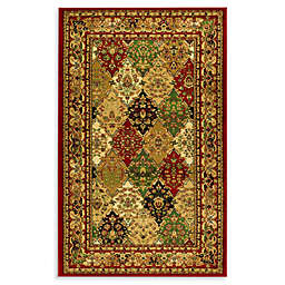 Safavieh Lyndhurst Diamond Patchwork 2-Foot 3-Inch x 14-Foot Runner in Red