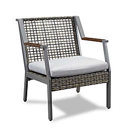 Real Flame® Calvin Outdoor Arm Chairs (Set of 2)