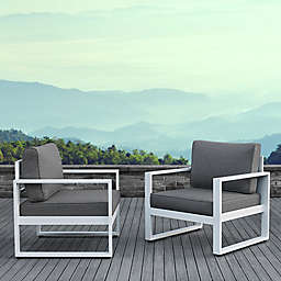 Real Flame® Baltic Outdoor Casual Chairs (Set of 2)