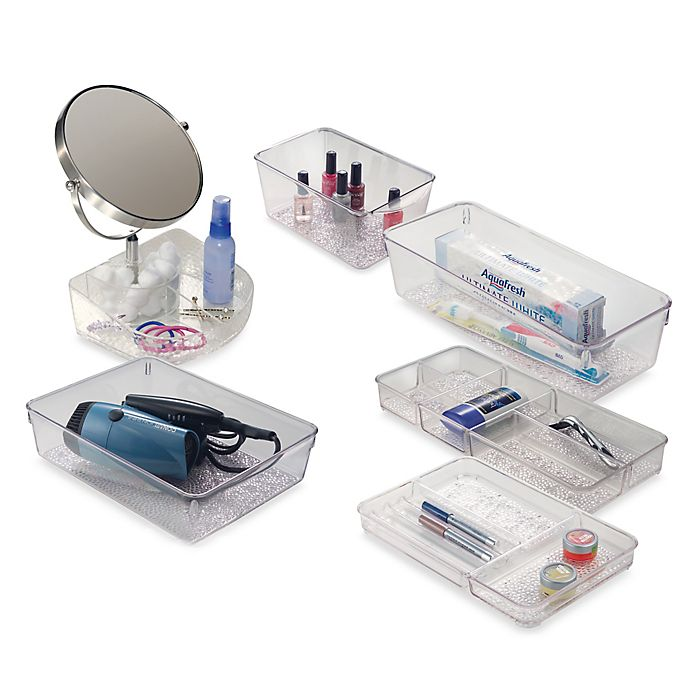 Alternate image 1 for iDesign® Vanity Organizer™ Rain Collection
