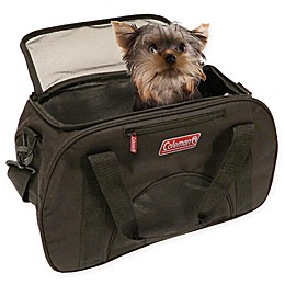 Coleman Airline Approved Small Pet Carrier in Black