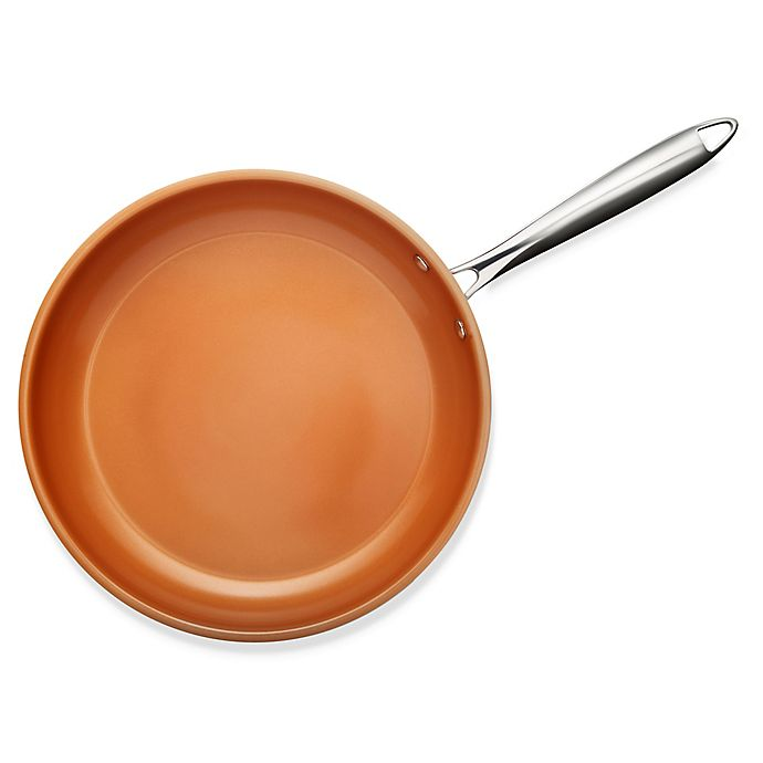 Alternate image 1 for Gotham™ Steel Stainless Steel Nonstick Copper Frying Pan