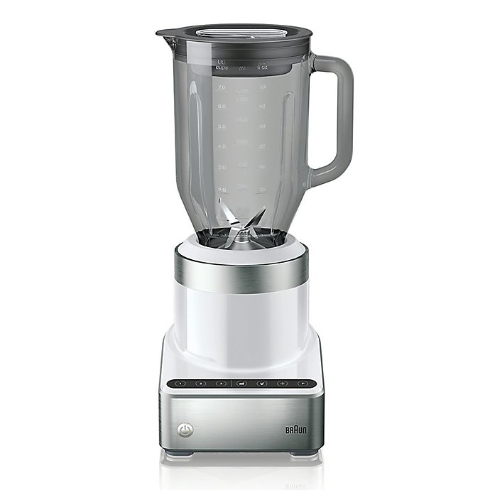 Alternate image 1 for Braun PureMix Blender with Thermal-Resistant Glass Jug in White