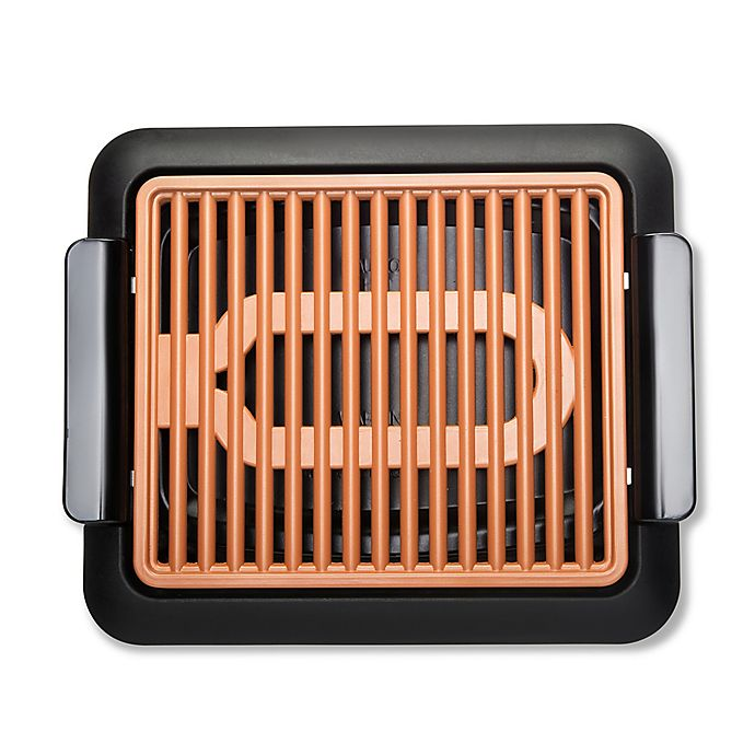 Alternate image 1 for Gotham™ Steel Indoor Electric Smokeless Grill