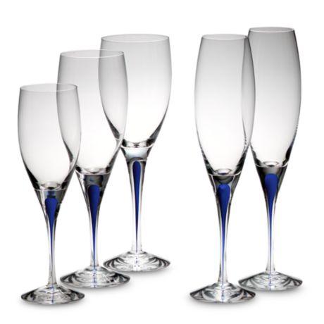 Buy Orrefors Intermezzo Blue Goblet from Bed Bath & Beyond