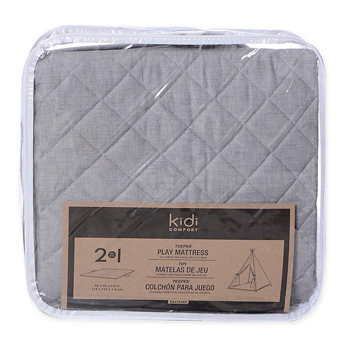 Alternate image 1 for KidiComfort™ 2-In-1 Quilted Teepee Floor Mat