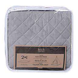 KidiComfort™ 2-In-1 Quilted Teepee Floor Mat