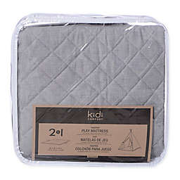KidiComfort™ 2-In-1 Quilted Teepee Floor Mat