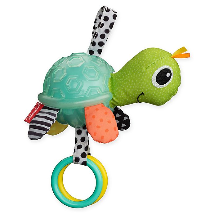 Alternate image 1 for Infantino® Textured Sensory Pal™ Turtle