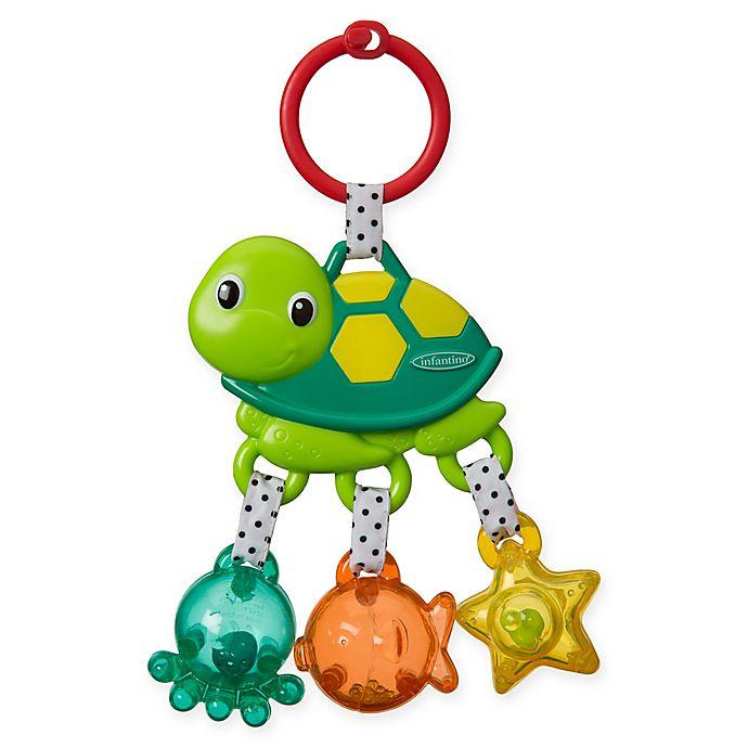 Alternate image 1 for Infantino® Jingle Sea Charms Rattle TurtlePal™