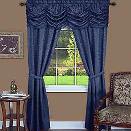 Achim Panache Rod Pocket 5-Piece Window Curtain Set