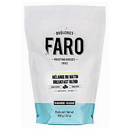 FARO Roasting Houses 2 lb. Breakfast Blend Whole Bean Coffee