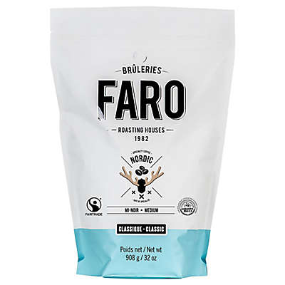FARO Roasting Houses 2 lb. Nordic Deep Dark Roast Whole Bean Coffee