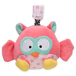 Magic Years® Owl Chime Rattle with Travel Strap in Pink