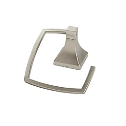 Umbra® Zen Towel Ring in Nickel