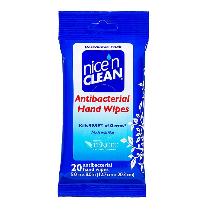 Alternate image 1 for Nice 'n Clean® 20-Count Baby Wipes