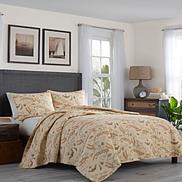 Tommy Bahama® Bahama Map Quilt Sephia Set Collection