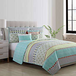 VCNY Home Dharma Reversible Quilt Set