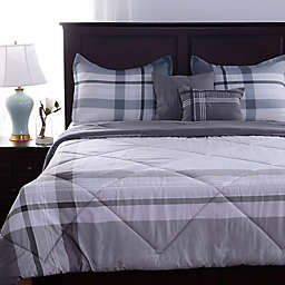 Berkshire Blanket® Cabin Plaid Comforter Set