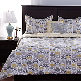 Berkshire Blanket Chic Zig Zag Reversible Comforter Set