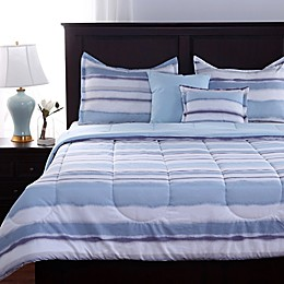 Berkshire Watercolor Stripe Comforter Set