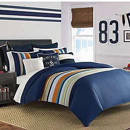 Nautica® Heritage Sailing Stripe Reversible Comforter Set