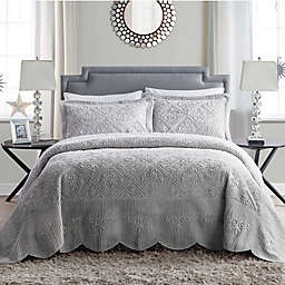 VCNY Home Westland Plush King Bedspread Set
