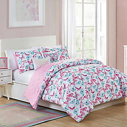 VCNY Home Pretty Butterfly Comforter Set