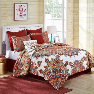 Vcny Home Tara Medallion Comforter Set Bed Bath Amp Beyond