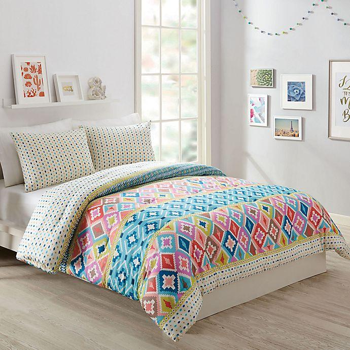 Vera Bradley Hacienda Diamond Reversible Comforter Set Bed Bath