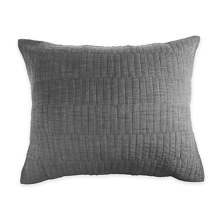 Real Simple Dune Chambray Pillow Sham Bed Bath Beyond