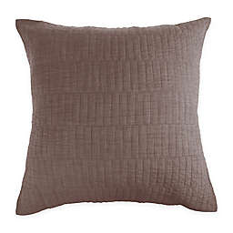 Real Simple® Dune Chambray European Pillow Sham in Oatmeal