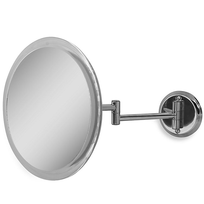 Zadro 5x Wall Mounted Makeup Mirror In Chrome Bed Bath