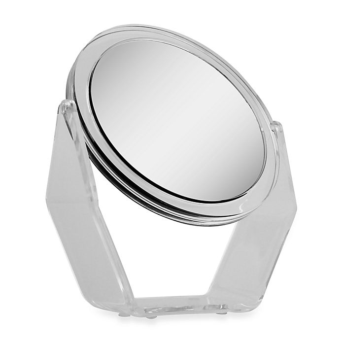 Alternate image 1 for Zadro™ 1X/5X Magnification Swivel Dual-Sided Vanity Mirror in Acrylic
