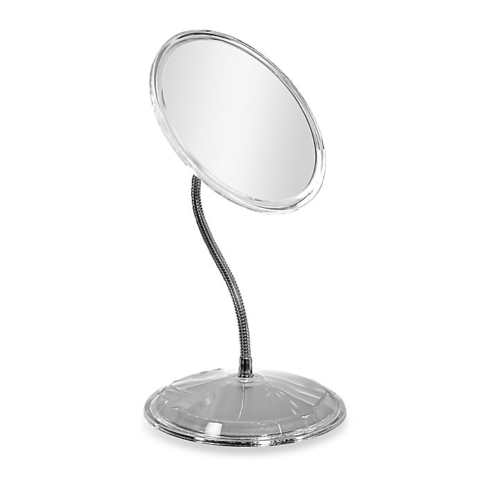 Alternate image 1 for Zadro™ Gooseneck Vanity Mirror in Acrylic/Chrome