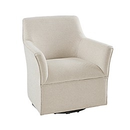 Madison Park Augustine Swivel Glider in Cream