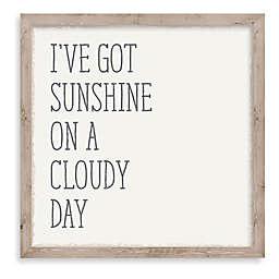 """""""I've Got Sunshine"""" 10-Inch Square Framed Wall Art"""