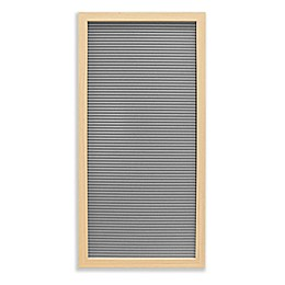 New View 10-Inch x 20-Inch Letter Board in Grey