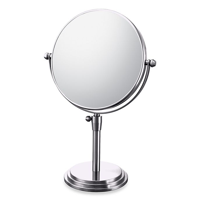 Alternate image 1 for Mirror Image™ Classic Adjustable 5X/1X Vanity Mirror with Chrome Finish