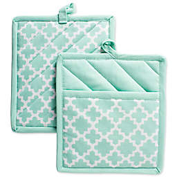Design Imports Lattice Pot Holders and Pan Handle Covers