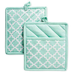 Design Imports Lattice Pot Holders (Set of 2)