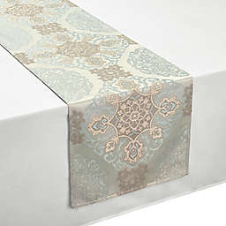 Waterford® Linens Jonet 90-Inch Table Runner in Aqua