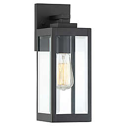 Quoizel® Westover Outdoor Wall-Mount Lantern in Earth Black