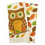 Plaid Owl Kitchen Towels (Set of 2)