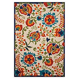 Nourison Aloha Multicolor Indoor/Outdoor Area Rug