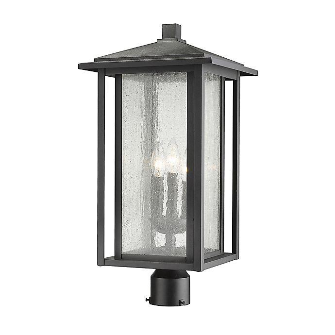 Alternate image 1 for Filament Design Aspen Post-Mount Outdoor 22-Inch Light in Black